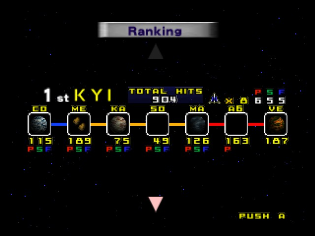 Star Fox 64 - I get this score on the last ending - User Screenshot